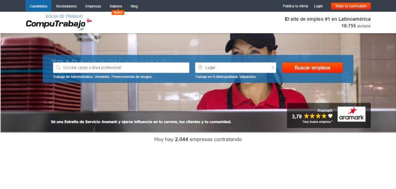 Bolsa de trabajo Portal del empleo Computrabajo Chile