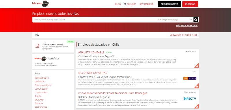 Empleos en Chile trabajo y ofertas de empleo Laborum