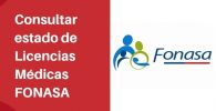 consultar el estado de Licencias Médicas FONASA