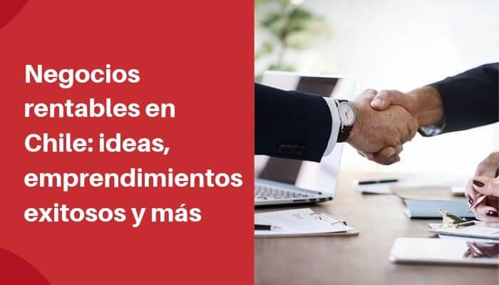 17 Negocios Rentables En Chile Fáciles De Empezar