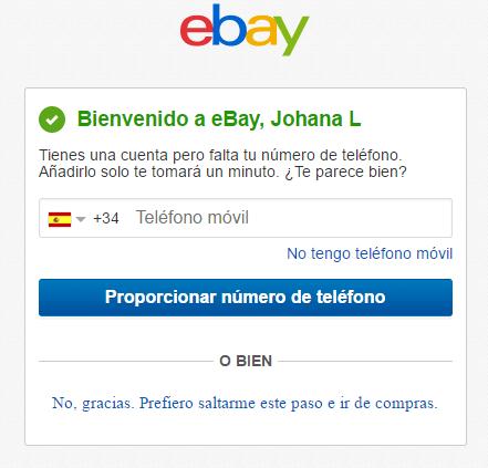 cargar celular en ebay chile