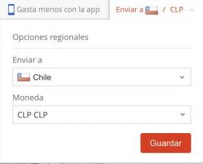 pagar en aliexpress con pesos chilenos