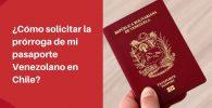 solicitar prorroga pasaporte venezolano
