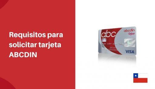 Requisitos para solicitar tarjeta ABCDIN