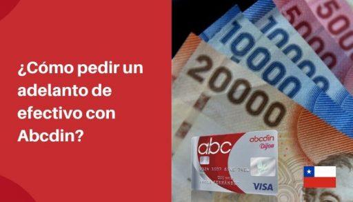 pedir un adelanto de efectivo Abcdin